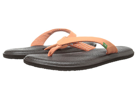 Sanuk - Yoga Chakra (Melon) Women's Sandals