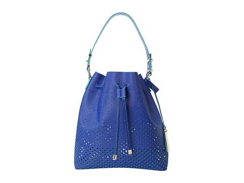 Vince Camuto - Leila Drawstring (Lapis Blue/Grass Green) Shoulder Handbags