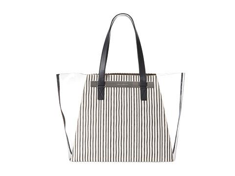 Vince Camuto - Jace Large Tote (Black Stripe) Tote Handbags