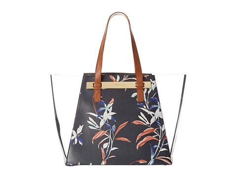 Vince Camuto - Jace Large Tote (Peacoat Flor) Tote Handbags