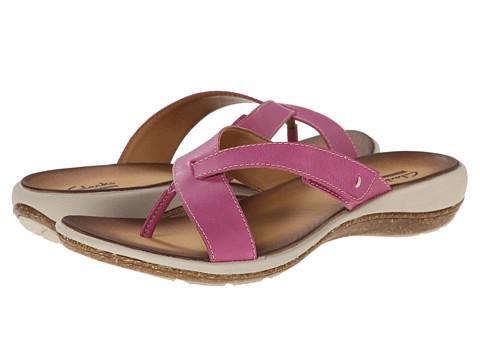 Clarks - Taline Stir (Pink Leather) Women