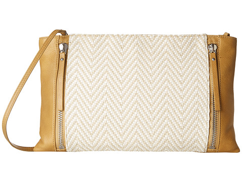 Vince Camuto - Baily Clutch (Oak/Natural) Clutch Handbags