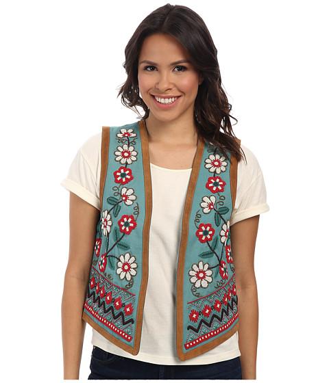 Tasha Polizzi - Spanish Trail Vest (Turquoise) Women