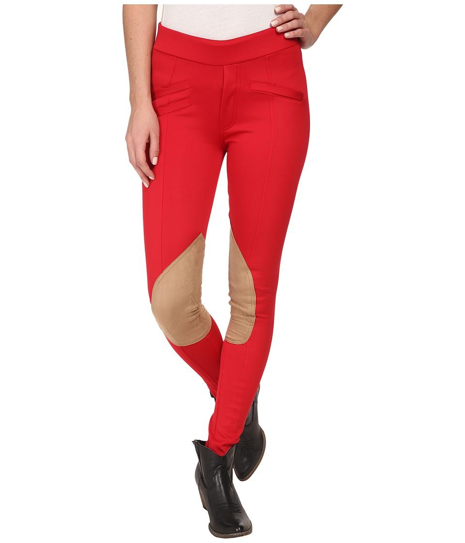 Tasha Polizzi - Equestrian Pant (Red) Women's Casual Pants