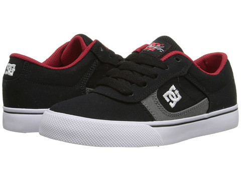 DC Kids - Cole Pro TX (Little Kid) (Black/Athletic Red/Battleship) Boys Shoes