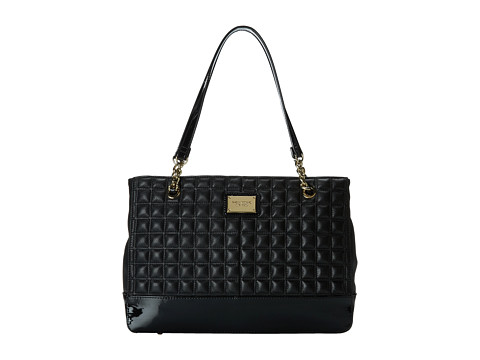 Tignanello - Lady Q Chain Shopper (Black) Tote Handbags