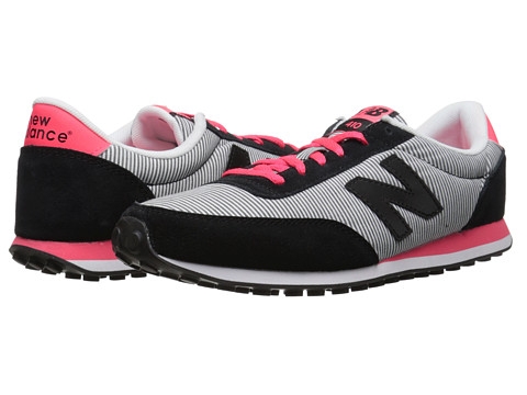 New Balance - WL410 (Black/Bright Cherry) Women's Running Shoes