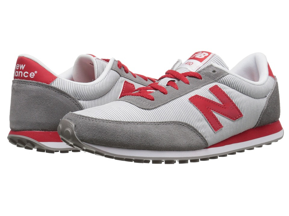 New Balance - WL410 (Grey/Red) Women's Running Shoes