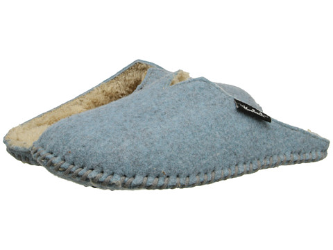 Woolrich - Felt Mill Scuff (Stillwater Blue) Women's Slippers
