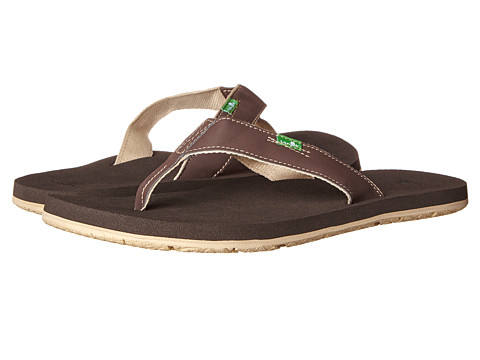 Sanuk - Longitude (Brown/Tan) Men