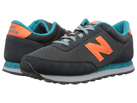New Balance - ML501 (Grey/Orange) Men's Shoes
