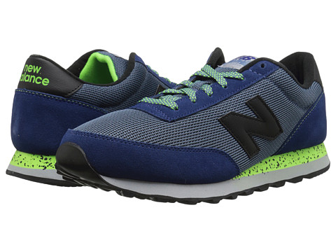 New Balance - ML501 (Blue/Green) Men's Shoes