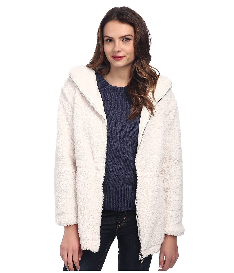 TWO by Vince Camuto - Polar Bear Faux Fur Hooded Knit Parka (Vanilla) Women