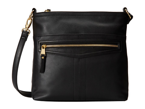 Tignanello - Pretty Pockets Large Crossbody (Black) Cross Body Handbags
