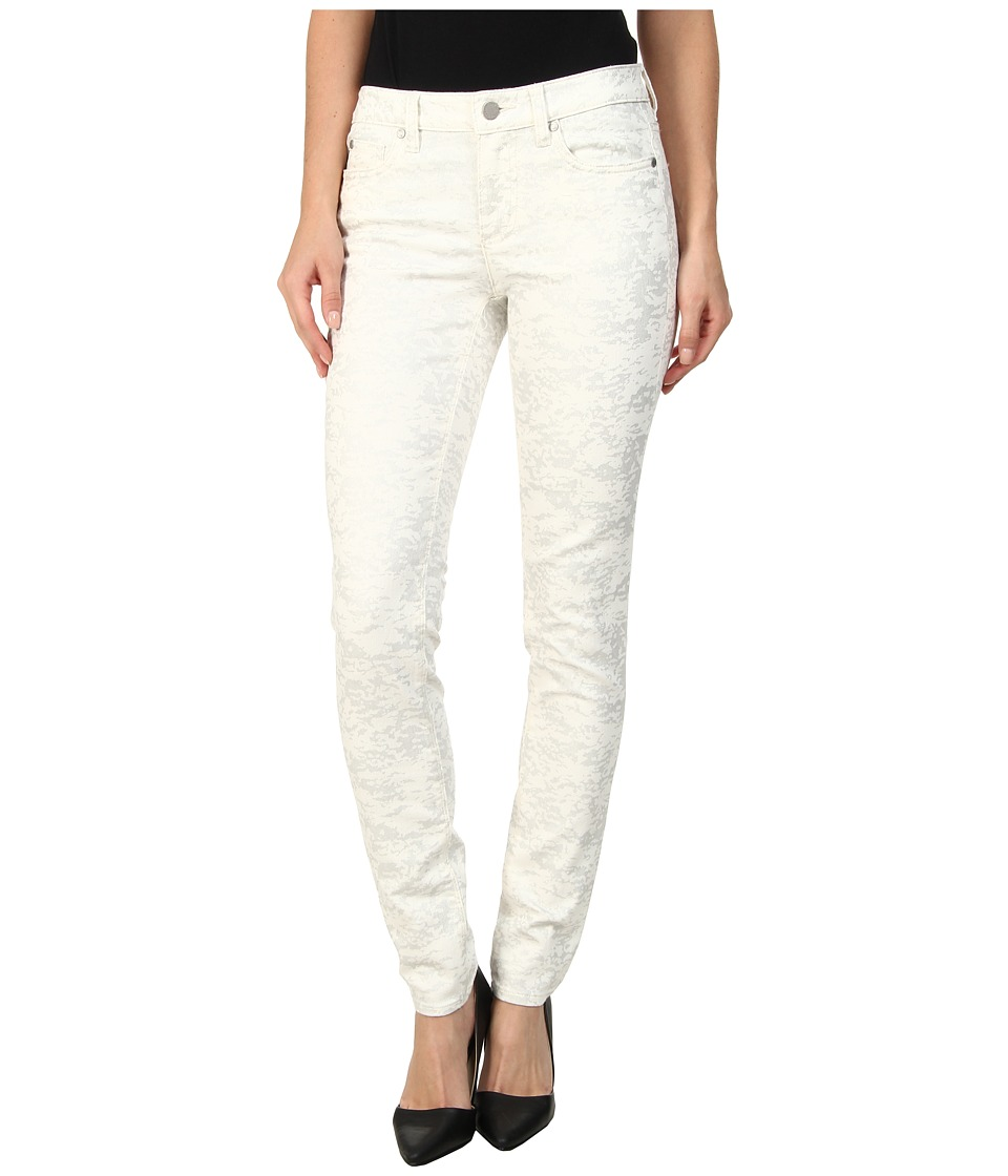 TWO by Vince Camuto - Five-Pocket Foiled Dreamscape Skinny Jean in Vanilla (Vanilla) Women's Jeans