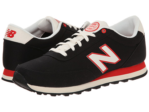 New Balance - ML501 (Black/Red) Men's Shoes