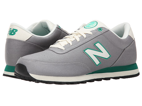 New Balance - ML501 (Grey/Green) Men's Shoes