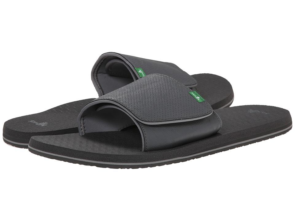 Sanuk - Beer Cozy Light Slide (Charcoal) Men's Slide Shoes