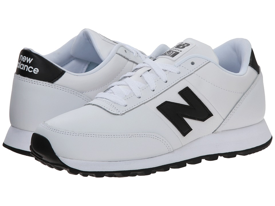 New Balance Classics - WN501 (White/Black) Women's Running Shoes