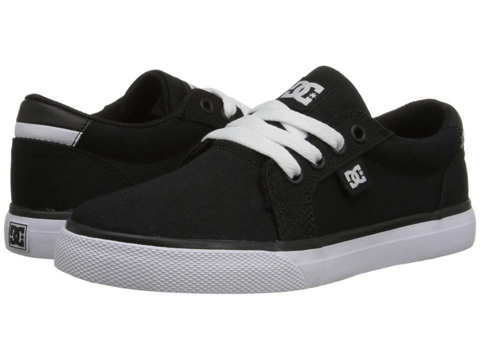 DC Kids - Council TX (Big Kid) (Black/White) Boys Shoes