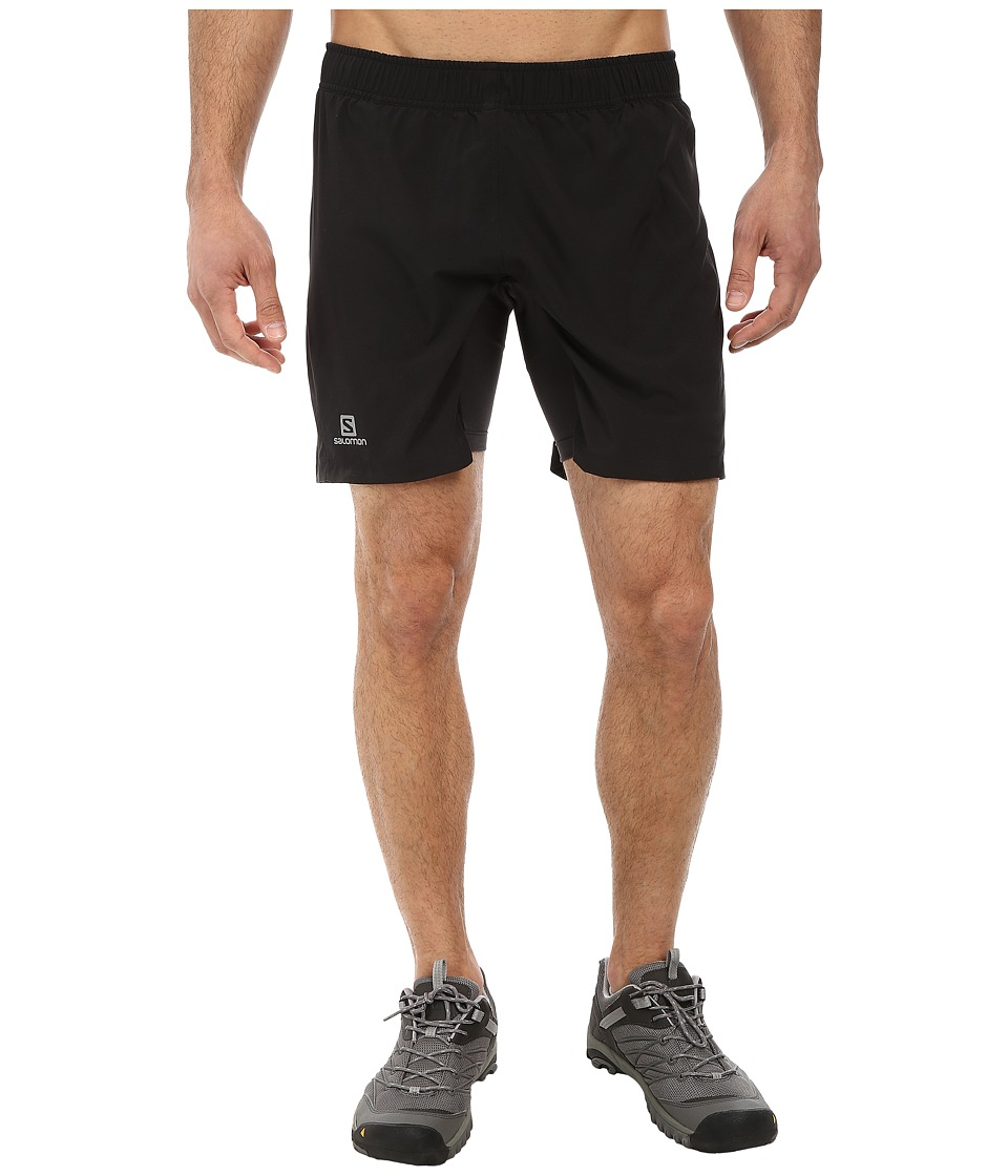Salomon - Trail Twinskin Short (Black) Men's Shorts