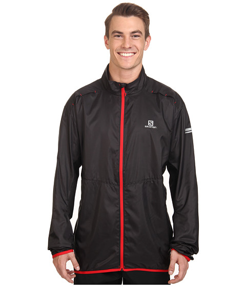 Salomon - Agile Jacket (Black) Men's Coat