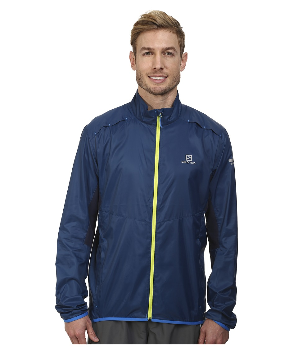 Salomon - Agile Jacket (Midnight Blue/Big Blue-X) Men