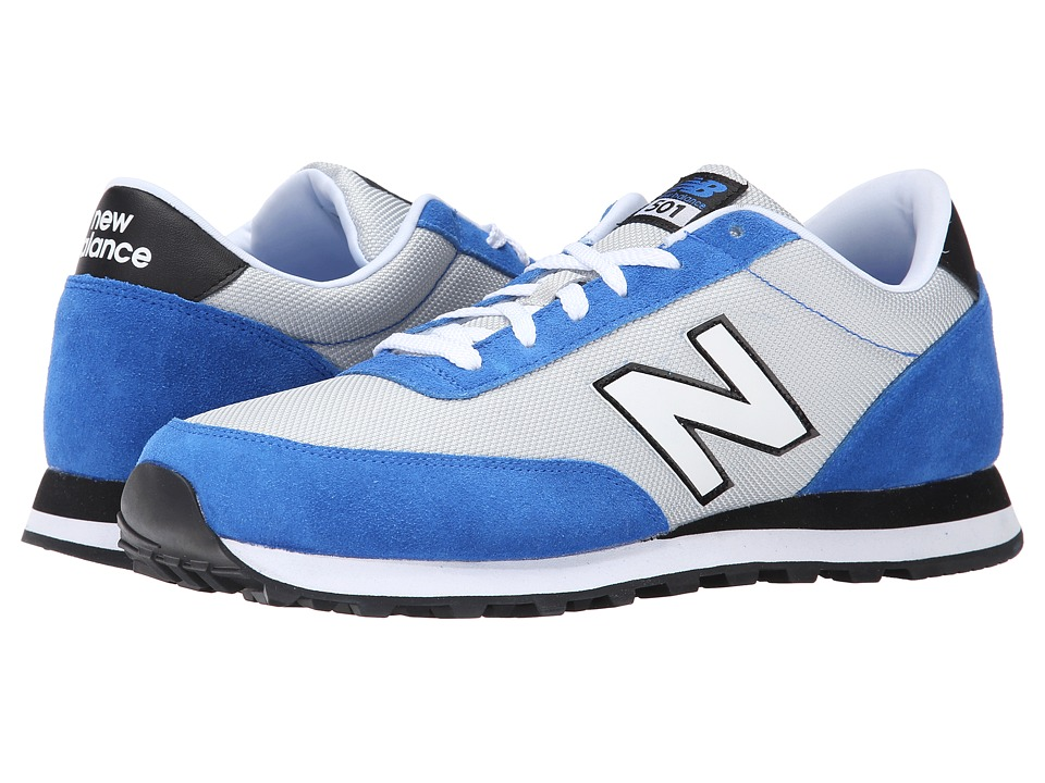 New Balance - ML501 (Silver/Blue) Men