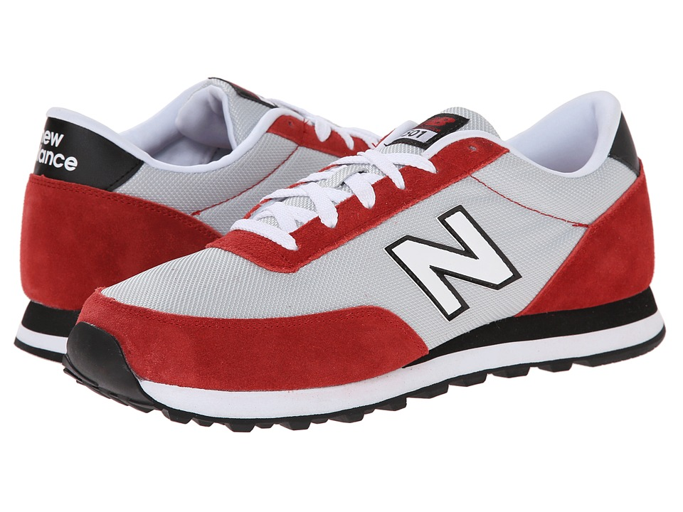 New Balance - ML501 (Silver/Red) Men