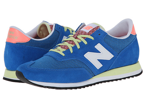 New Balance Classics - CW620 (Electric Blue/Suede/Textile) Women
