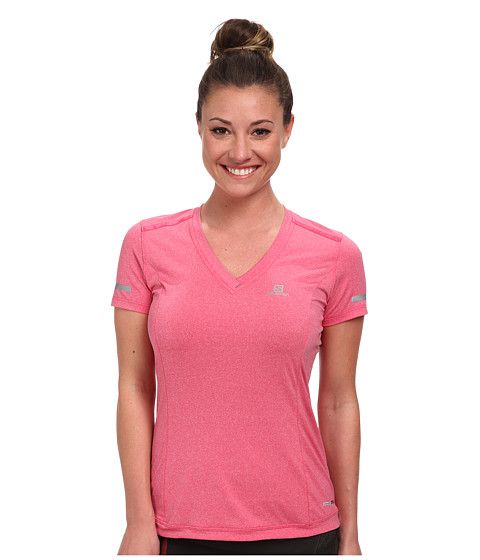 Salomon - Park Tee (Hot Pink) Women's T Shirt