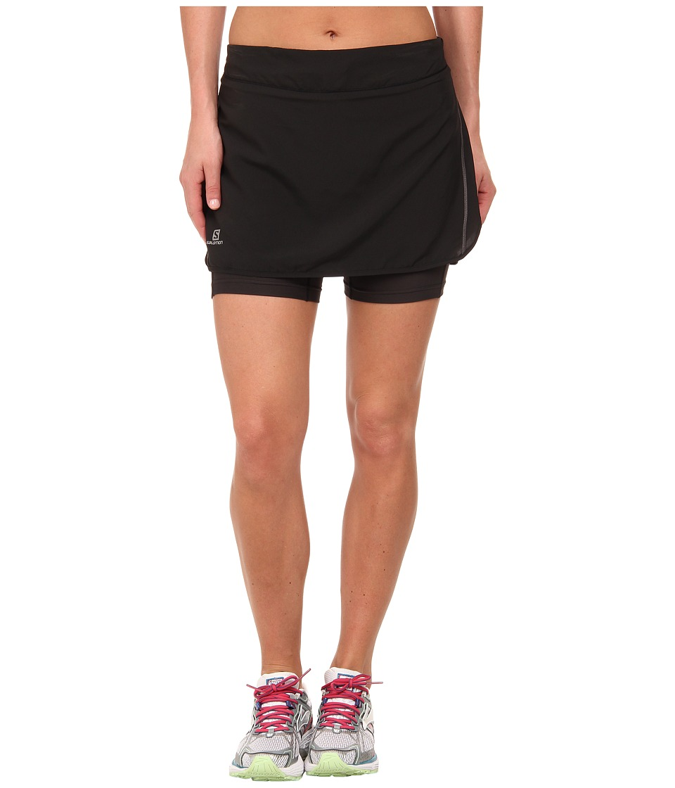 Salomon - Agile Skort (Black) Women's Skort