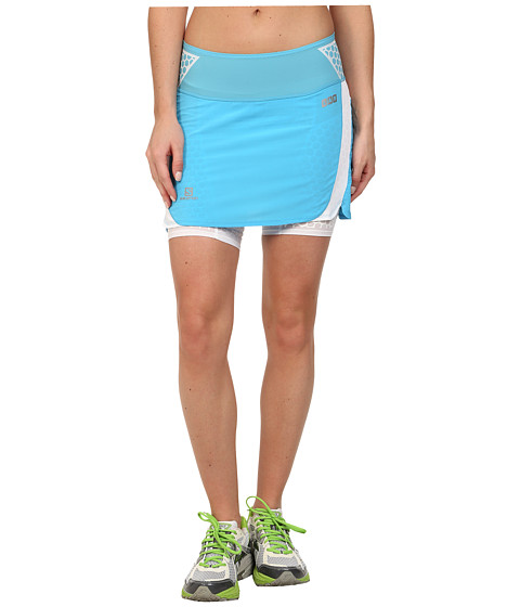 Salomon - S-Lab EXO Twinskin Skort (Blue Line/White) Women