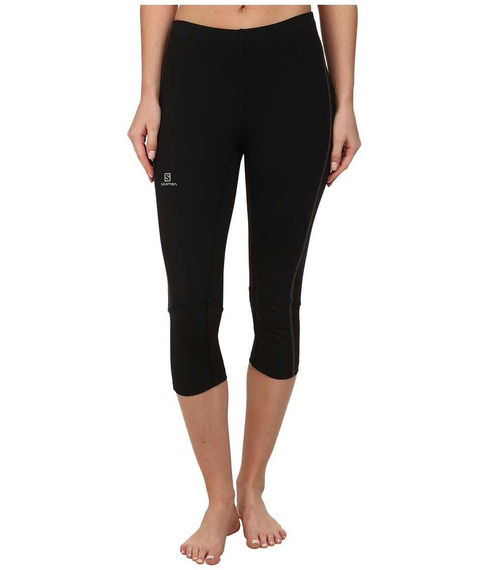 Salomon - Agile 3/4 Tight (Black) Women's Workout
