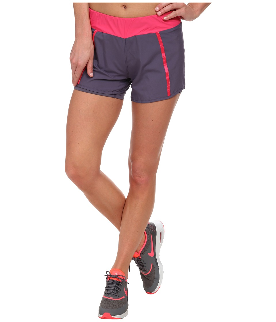 Salomon - Park 2 In 1 Short (Artist Grey-X/Hot Pink/) Women