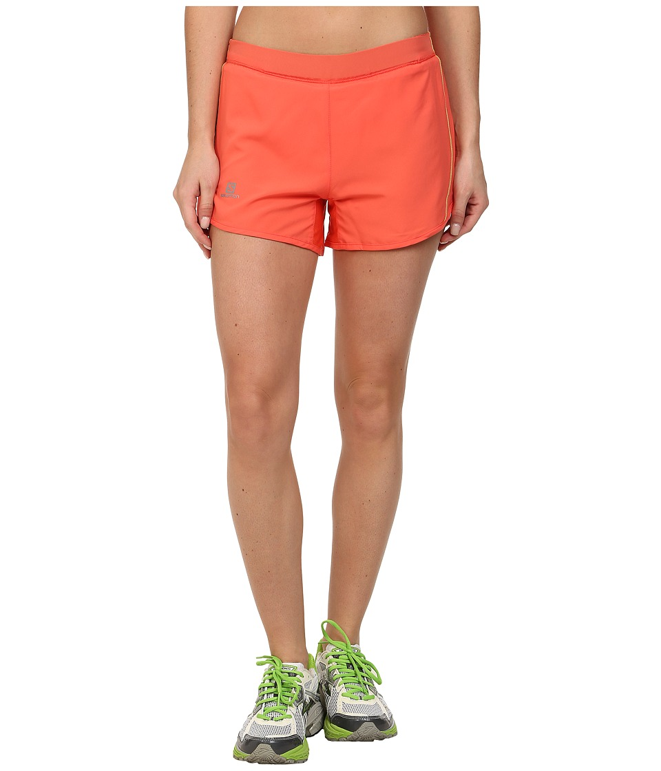 Salomon - Agile Short (Coral Punch) Women's Workout