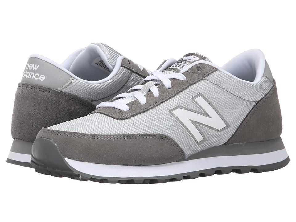 New Balance Classics - WL501 (Grey/Suede/Mesh) Women's Classic Shoes