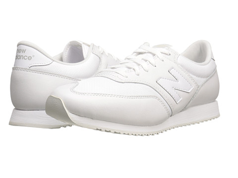 New Balance Classics - CM620 (White/Leather/Mesh) Men