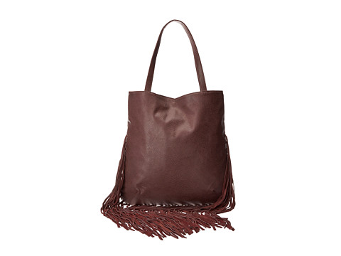 BCBGeneration - The Lana Tote (Dark Raspberry) Tote Handbags