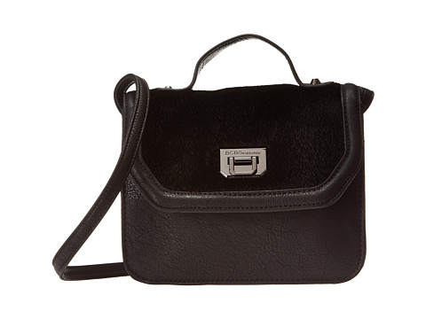BCBGeneration - The Icon Shoulder Bag (Black) Shoulder Handbags