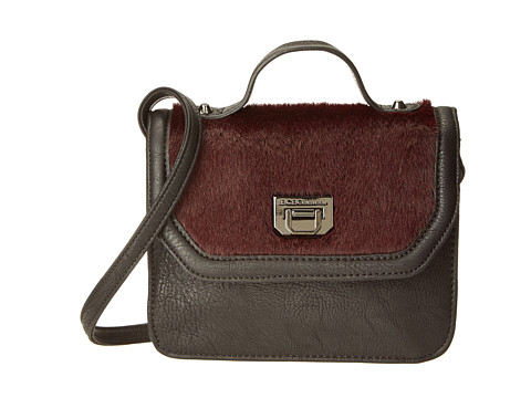 BCBGeneration - The Icon Shoulder Bag (Dark Raspberry) Shoulder Handbags