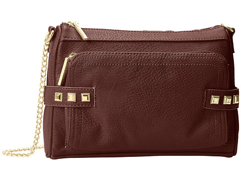 BCBGeneration - The Make A Statement Bag (Dark Raspberry) Cross Body Handbags