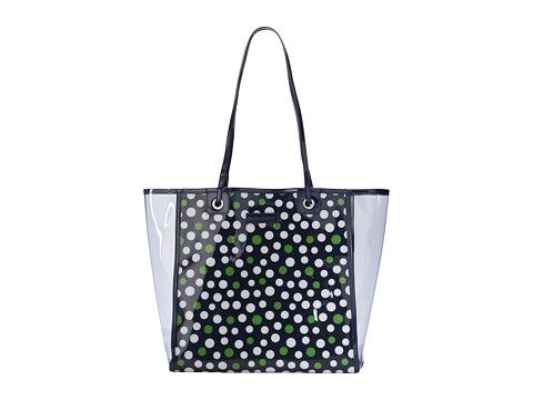 Vera Bradley - Clearly Colorful Tote (Lucky Dots) Tote Handbags