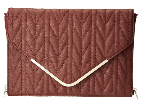 BCBGeneration - The Quilted Higher Maintenance Clutch (Brulee) Clutch Handbags