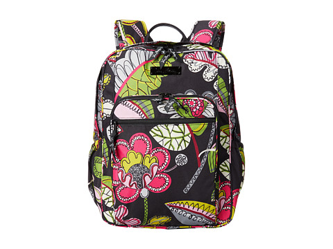 Vera Bradley - Lighten Up Medium Backpack (Moon Blooms) Backpack Bags