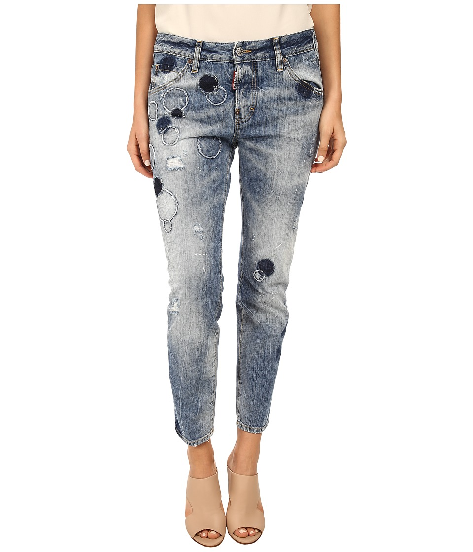DSQUARED2 - Cool Girl Jean (Blue) Women's Jeans