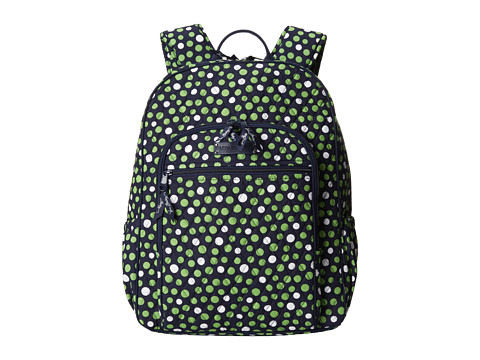 Vera Bradley - Campus Backpack (Lucky Dots) Backpack Bags