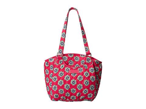 Vera Bradley - Glenna (Pink Swirls Flowers) Tote Handbags