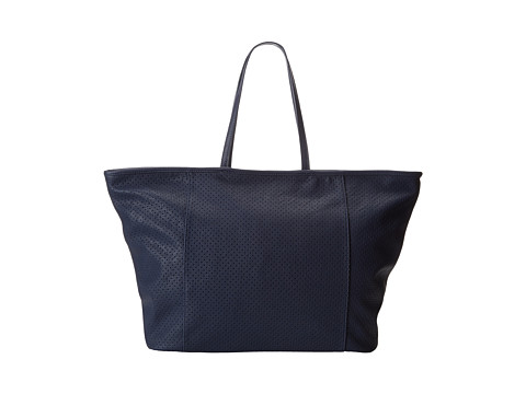 BCBGeneration - The Perforated Curator Tote (Navy) Tote Handbags