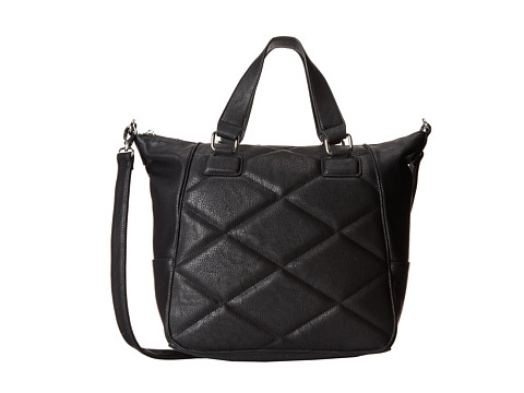 BCBGeneration - The Quilted Tribute Bag (Black) Tote Handbags